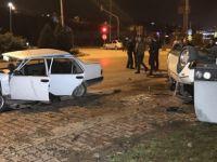 Karabük'te İki Otomobil Çarpıştı: 8 Yaralı