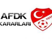 AFDK Bartınspor'dan savunma istedi