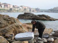 Fırtınada Roma Dönemine Ait Parçalar Ortaya Çıktı
