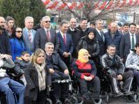 Ereğli'de Engelliler Tekerlekli Sandalyelerine Kavuştu