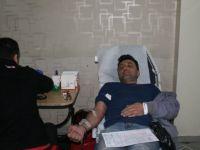 Mehmetçik için 124 ünite kan bağışlandı