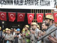 Zeytin Dalı Harekatı'na Madencilerden Destek