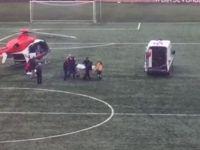 Diyaliz Hastası Helikopterle Memleketine Nakledildi