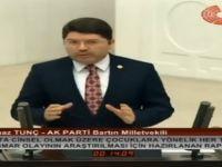 Milletvekili Tunç, istismar olaylarıyla ilgili oluşturulan Meclis Araştırma Komisyonu raporunu TBMM'de değerlendirdi