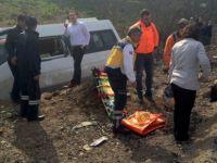 Zonguldak'ta Minibüs Devrildi: 9 Yaralı