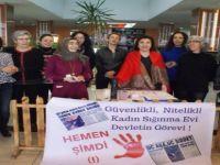 Kadın Sığınma Evi İçin İmza Kampanyası