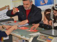 Karabüklü Öğrencilerden Zeytin Dalı Harekatı'na Destek