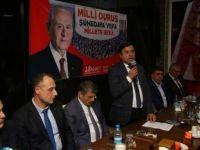 MHP Bartın teşkilatından MHP lideri Bahçeliye tam destek