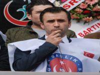 Türk Sağlık Sen Bartın İl Temsilcisi Besim Coşkun, sorunları sıraladı