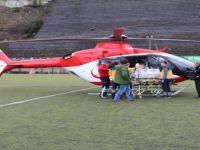 Ambulans Helikopter İki Günlük Bebek İçin Havalandı