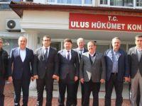 Milletvekili Tunç'tan Ulus Kaymakamı Hasar'a ziyaret