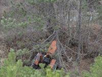 Bolu'da Traktör Devrildi: 1 Ölü