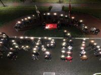 Üniversite Öğrencilerinden Mehmetçiğe Işıklı Destek