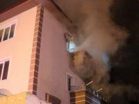 Bolu'da Apartman Yangını