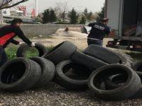 Atık Oto Lastikleri Polislerin Eğitiminde Kullanılacak
