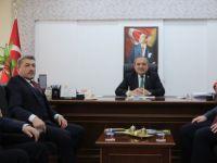 Milletvekili Tunç'tan Ulus Belediye Başkanı Uzun'a Ziyaret