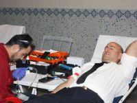 Polis Haftası kan bağışı ile başladı