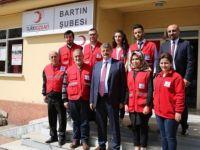 Belediye Başkanı Akın'dan Türk Kızılayına Ziyaret