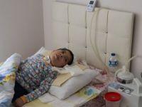 Kas Hastası Çocuğa İtfaiyeden Jeneratörlü Destek
