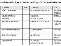 6.grubu lider tamamlayan Kırşehir, Nevşehir ile karşılaşacak