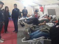 6 günde 1640 ünite kan bağışı alındı
