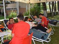 Ulus ilçesinde kan bağışı etkinliği düzenlendi