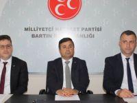 MHP İl Teşkilatı Bartın Milletvekili Adaylarını Tanıttı