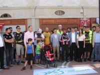 Bartınlı bisikletliler Dünya Bisiklet Günü'nü pedal çevirerek kutladı