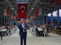 Kumluca Belediyesi bin kişiye iftar verdi