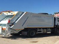 2018 bütçesinde bulunan çöp kamyonu hizmete alındı