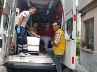 112 Acil Servis bu kez hastaları okullara taşıdı
