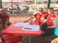 Amasra ilçesinde kan bağışı etkinliği düzenlendi