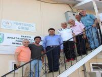 ASKF Başkanı Altınçubuk, kulüplerin sorunlarını iletti