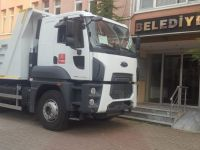 Başkan Can, müjdesini verdiği kamyonu belediyeye kazandırdı