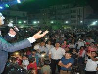 Oğuz Yılmaz ve Serap Şan konser verdi