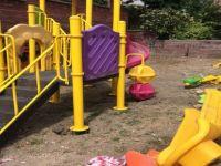 Aydınlık Caddesi'nde park yenileniyor