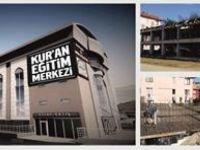 Kur'an Eğitim Merkezi inşaatı devam ediyor