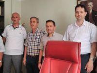 İl Temsilcisi Ünsal'dan yeni Müftü Yardımcısına hayırlı olsun ziyareti