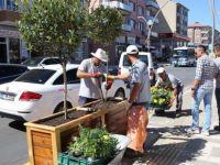 Bülent Ecevit Bulvarında son rötuşlar yapılıyor