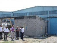 Kalaycı, OSB'de fabrika ziyaretlerinde bulundu