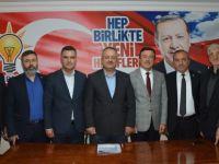 İl Başkan Yardımcıları Belediye Başkan Adaylığı için başvuruda bulundu