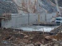 Ulus Eldeş Göleti inşaatı devam ediyor