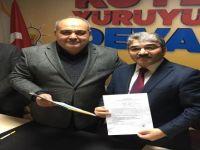 Okul Müdürü Köstekçi, Belediye Başkan Adaylığı için başvurdu