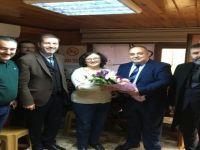 Belediye Başkan Adayı Aldatmaz, kadın mahalle muhtarlarını ziyaret etti