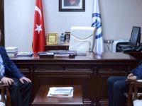 Başkan Akın'dan Rektör Uzun'a ziyaret