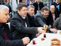 Milletvekili Tunç, Bartın merkezde ziyaretlerinde bulundu