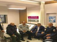 İl Başkanı Kalaycı'dan Belediye Başkanı Dönmez'e geçmiş olsun ziyareti