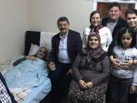 Başkan Akın, ev ziyaretlerine devam ediyor