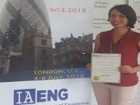 'En İyi Tam Metin Bildiri Öğrenci Ödülü' aldı