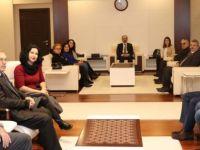 Göreve yeni atanan CHP İl ve Merkez İlçe Yönetimi ilk ziyaretini Vali Güner'e gerçekleştirdi